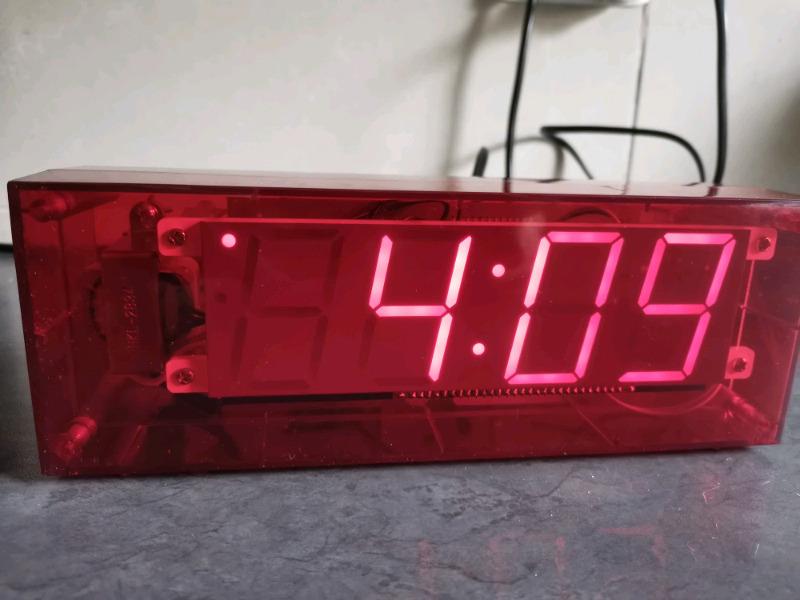 Habitat bedside/desktop digital clock