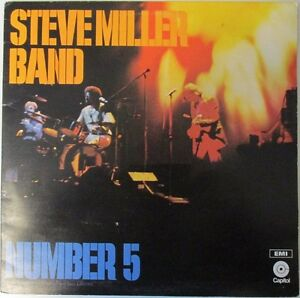 Steve-Miller-Band-Number-5-EA-ST-436-Vinyl-Lp-Record-Album-1970s