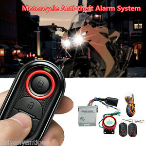 Waterproof Motorcycle Remote Control Anti-theft Alarm Safety System Engine Start