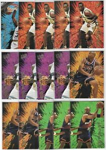 1994-95 Fleer Ultra Power Insert Lot Of 34 W/ 1 Complete Set Shaquille O'Neal ++