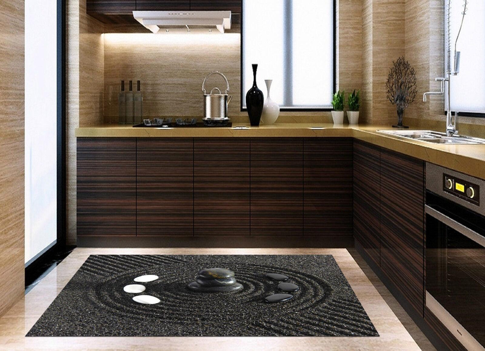 3D Sands Stones 6 Kitchen Mat Floor Murals Wall Print Wall Deco AJ WALLPAPER CA
