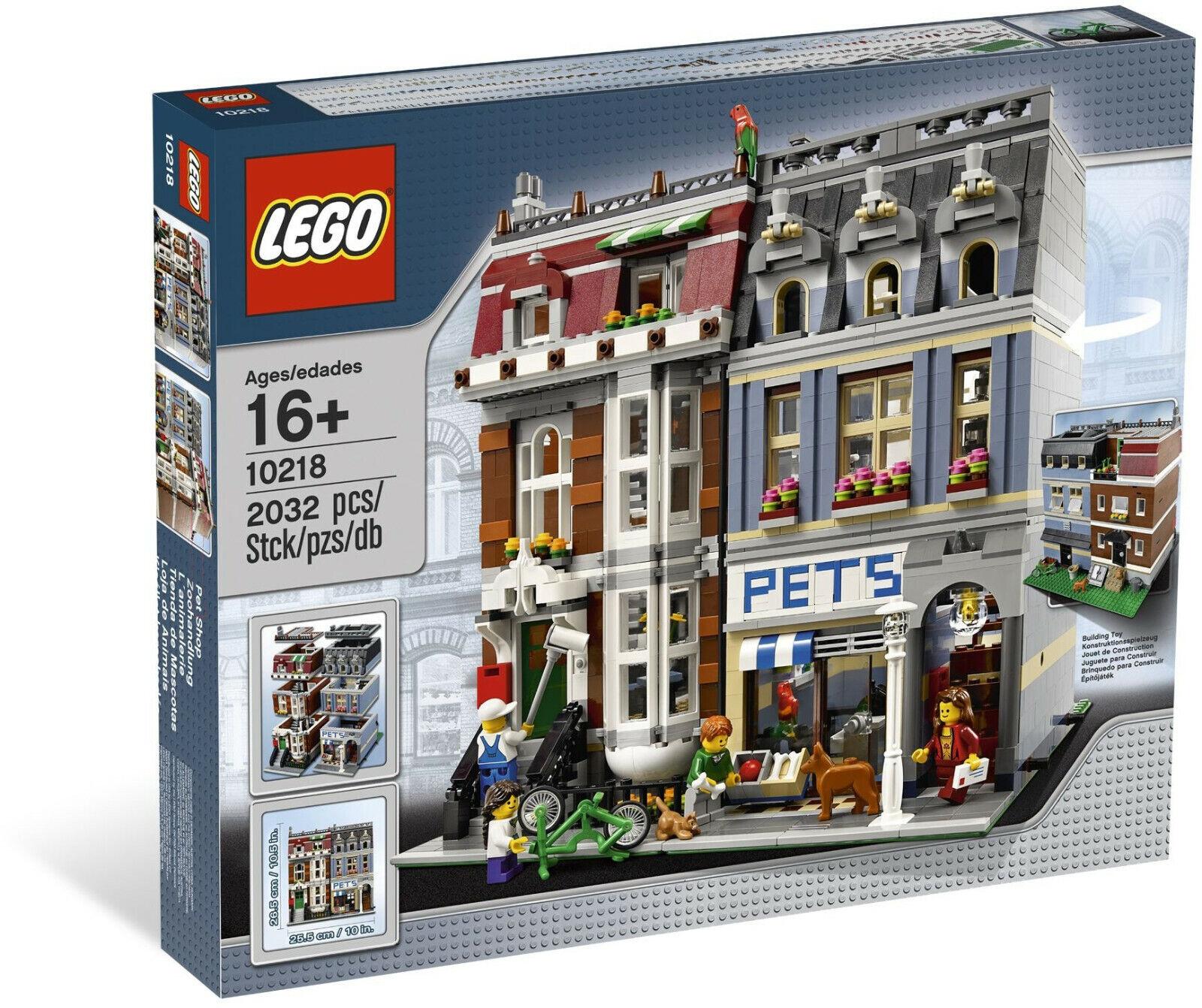 Lego 10218 Pet Shop  Collezione  Mai Aperto  Visita il mio Negozio