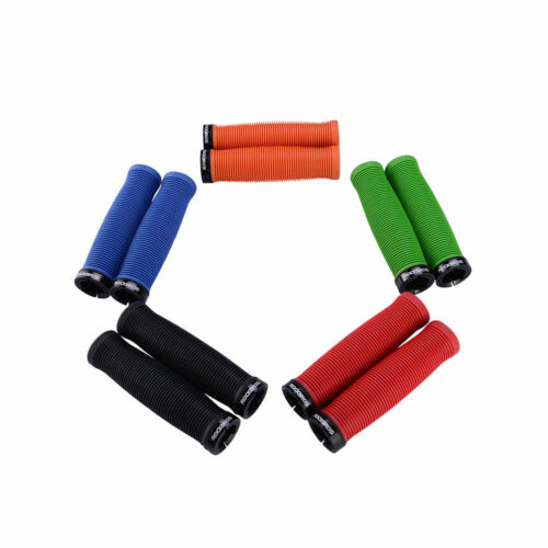 RockBros Bike Cycling One Side Lock TPR Rubber Comfortable Non-Slip Grips