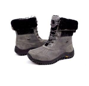 49c1b3ff55d Ugg Womens Adirondack II Charcoal Color Snow Boots Size 6 US ...