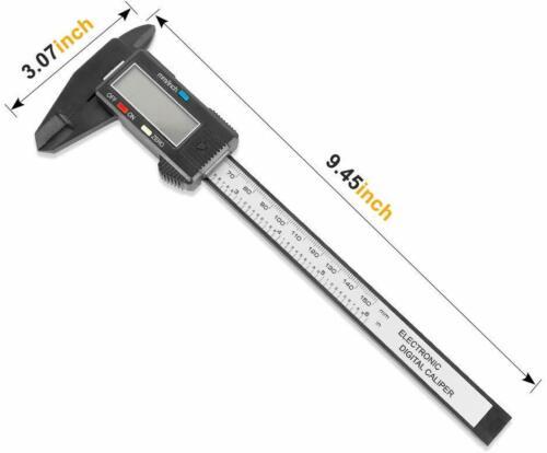 "LCD Digital Electronic Vernier Caliper Gauge Micrometer 150mm 6/"""