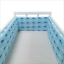 Baby-Crib-Bumper-Thicken-Pad-Breathable-Comfy-Toddler-Bed-Cot-Protector-Cotton miniature 7