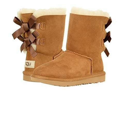 d2b1642974b UGG Australia 1017394K Kids' Bailey Bow II Fashion Boot Chestnut Authentic 3