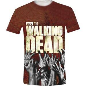 The-Walking-Dead-Hands-Full-Official-Merchandise-T-Shirt-M-L-XL-Neu