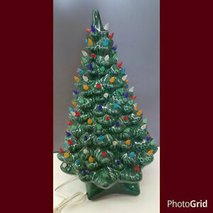 Vintage Style Ceramic Christmas Tree Large Holland With
