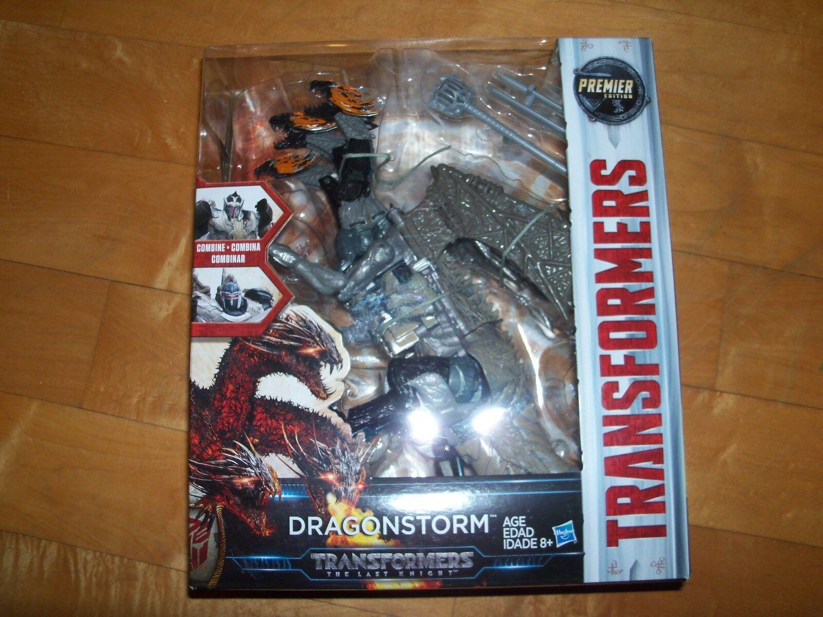 Die transformatoren der letzte ritter dragonstorm premeir edition