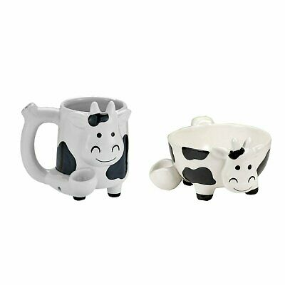 ROAST AND TOAST COW ICE CREAM OR CEREAL BOWL