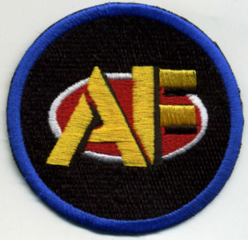 "3/"" entièrement brodé GI JOE ACTION FORCE Logo Iron-on patch"