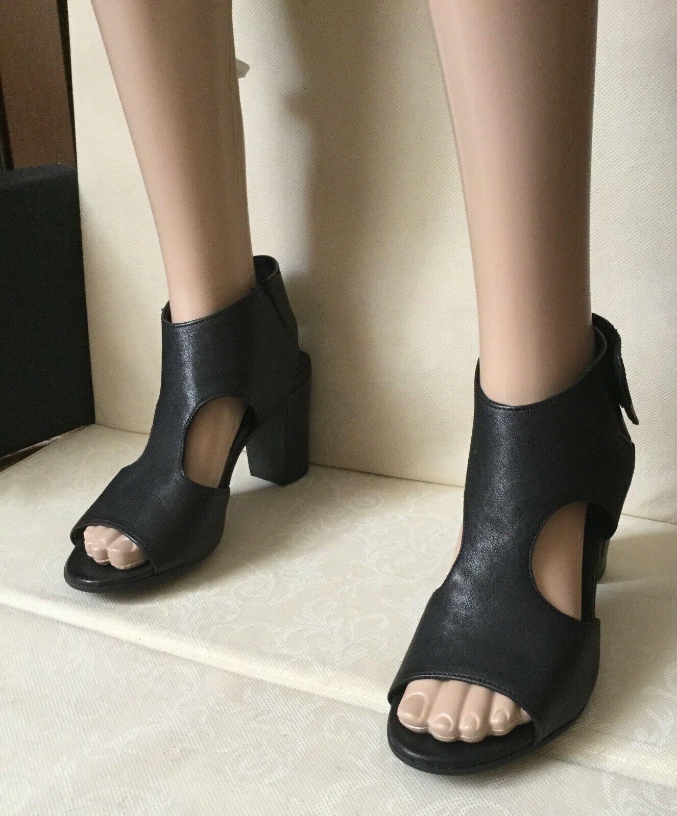 Sandals handmade CARMENS Woman, noir Couleur, Taille 38, leather  Sandali femmes