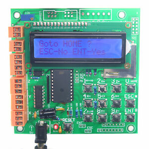 Details about 3Axis Stand-alone CNC Stepper Motor Controller & LCD Support  G-code in SD Card