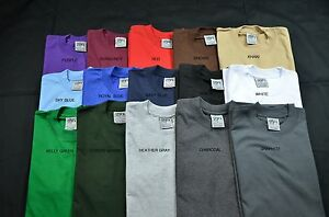 6 Wear Color Plain Heavy Super Max New Tee 3xl 6pc Shaka Weight shirts T r4qERwr