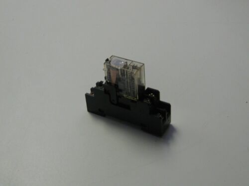 OMRON Relay, G2R-2-SD, W/Base, Used, WARRANTY