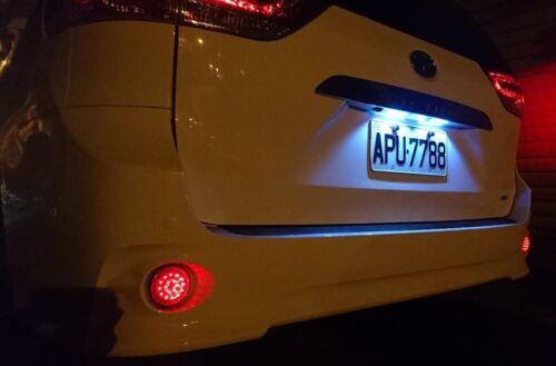 MIT Toyota SIENNA 2011-2017 3rd Gen-LED rear garnish T10 license light White