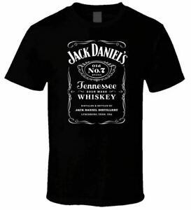 NEW-JACK-DANIELS-2-BLACK-T-SHIRT-USA-SIZE-Funny-Black-Vintage-Gift-Men-Women