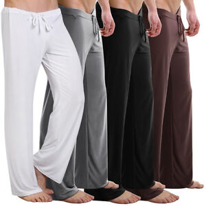 Best-Gift-Men-Sport-Pajamas-Pyjamas-Lounge-Pants-Yoga-Pants-Sleep-Bottoms-M-L