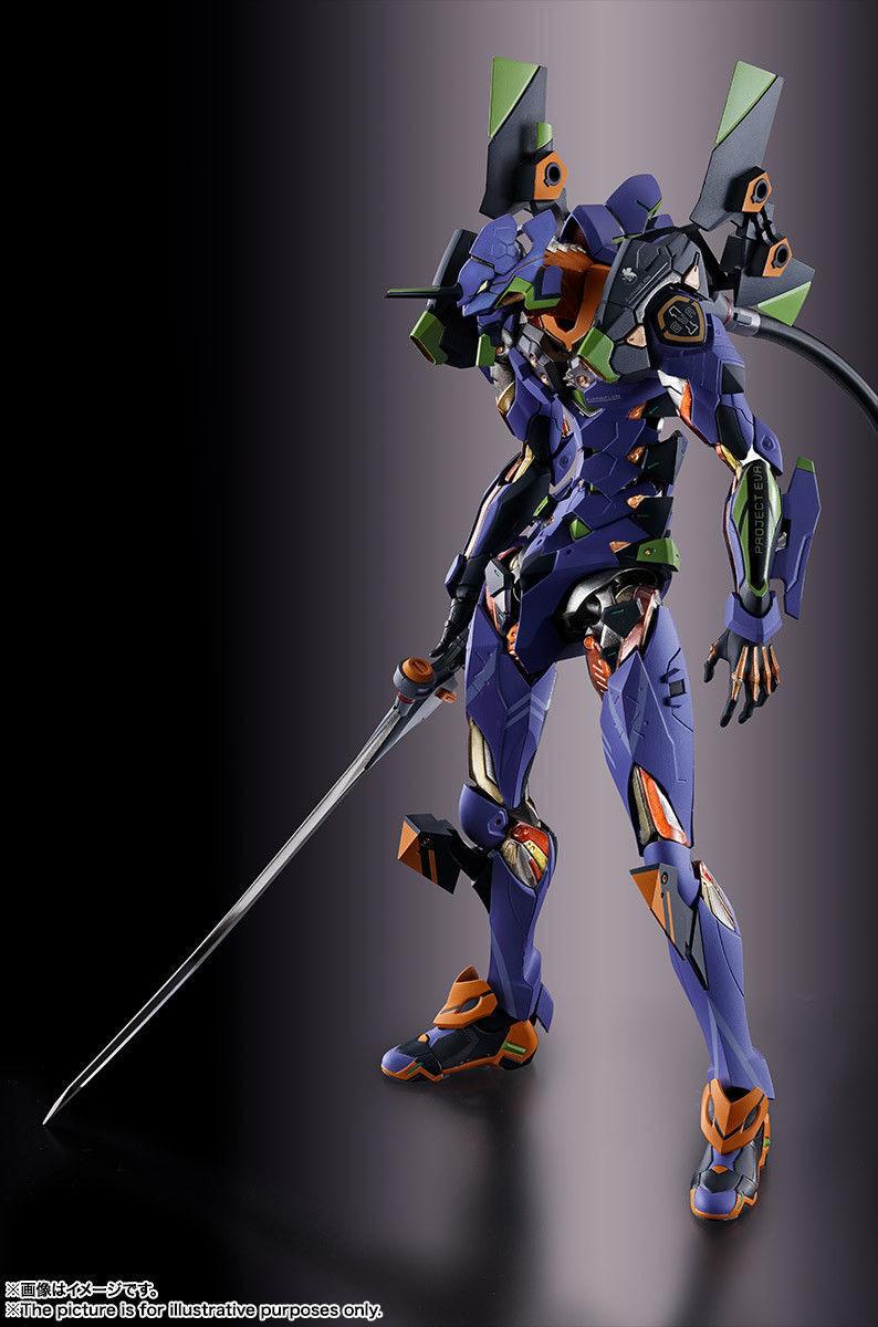 Bandai acumulación de metal Neon Genesis Evangelion EVA UNIDAD 01 Figura De Acción