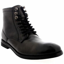 Mens Frank Wright Formby Work Leather Smart Office Lace Up Ankle Boots UK 9