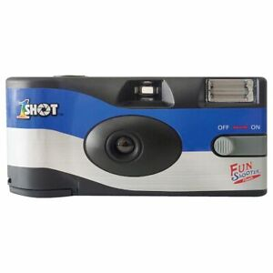 1shot Fun Shooter Flash ISO 400 35mm 27 Exposure Single Use Film Camera