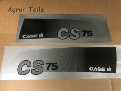 Aufkleber Motorhaube Case CS 75 Original Motorhaubenaufkleber