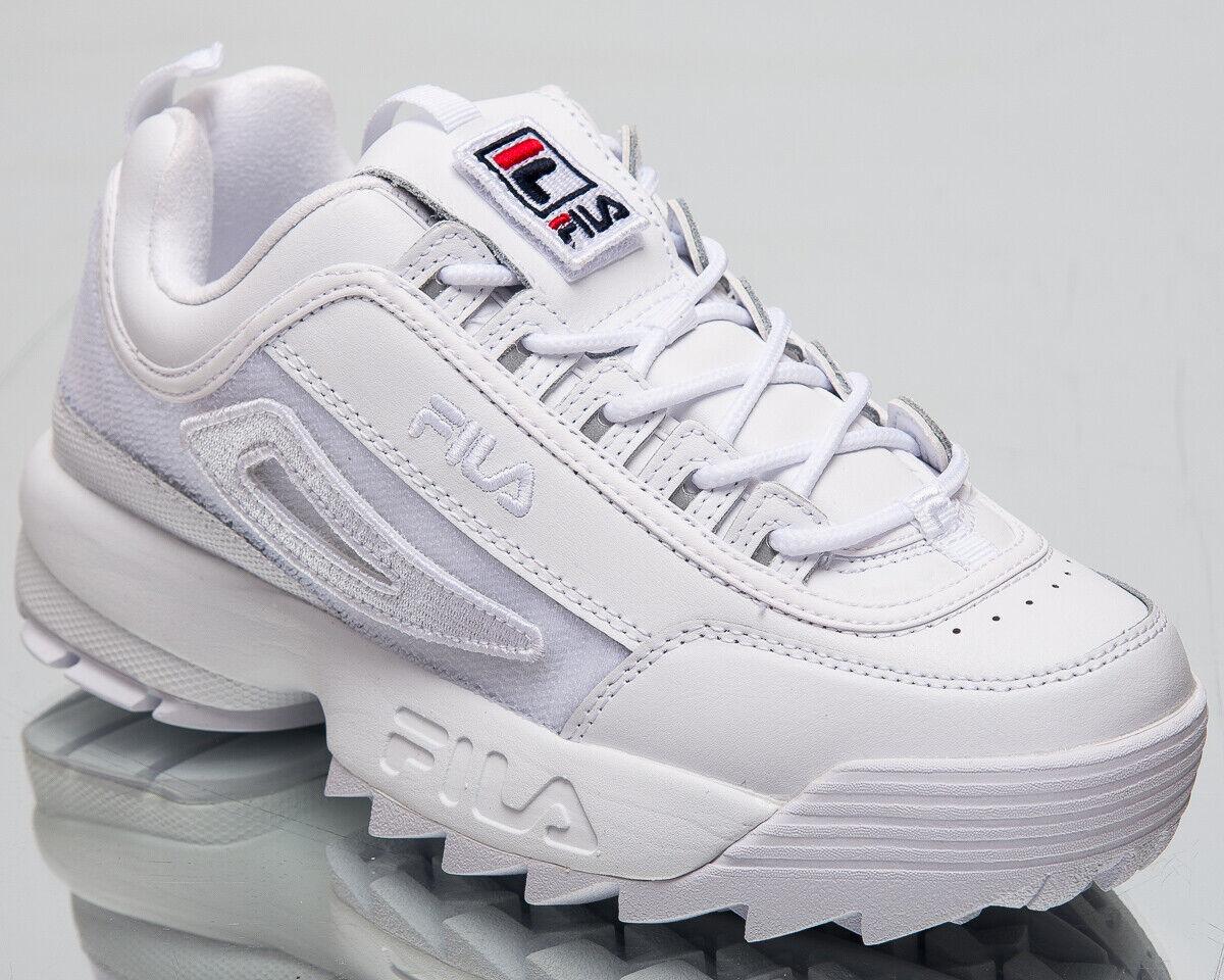 ventas calientes Fila Disruptor II 2 2 2 Parches Mujer blancooa Casual zapatos de estilo de vida 5FM00538-100  Venta en línea de descuento de fábrica