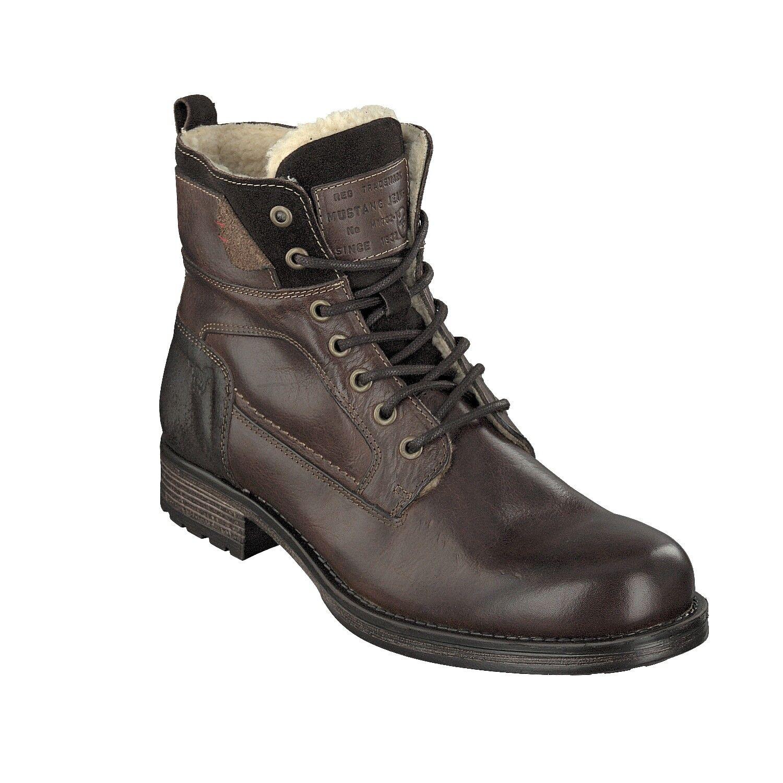 Mustang señores con cordones-botas botas 4865-610-32 c06