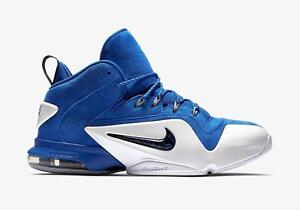 NIKE ZOOM PENNY VI 6 749629 401 GAME ROYAL BLUE/BLACK-WHITE - SUEDE/FOAMPOSITE