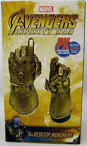 Marvel Infinity Gauntlet Snap Bureau Monument-San Diego comic-con 2019 EXC