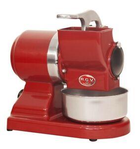 Grattugia-elettrica-Maxi-Vip-8-Gs-Rossa-450-W-RGV-pane-formaggio