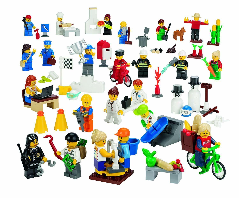 Lego education Minifiguren Set Gemeinschaft 9348 Leute und Berufe