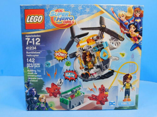 Lego 41234 Bumblebee Helicopter 142  pieces  New DC Super Hero Girls