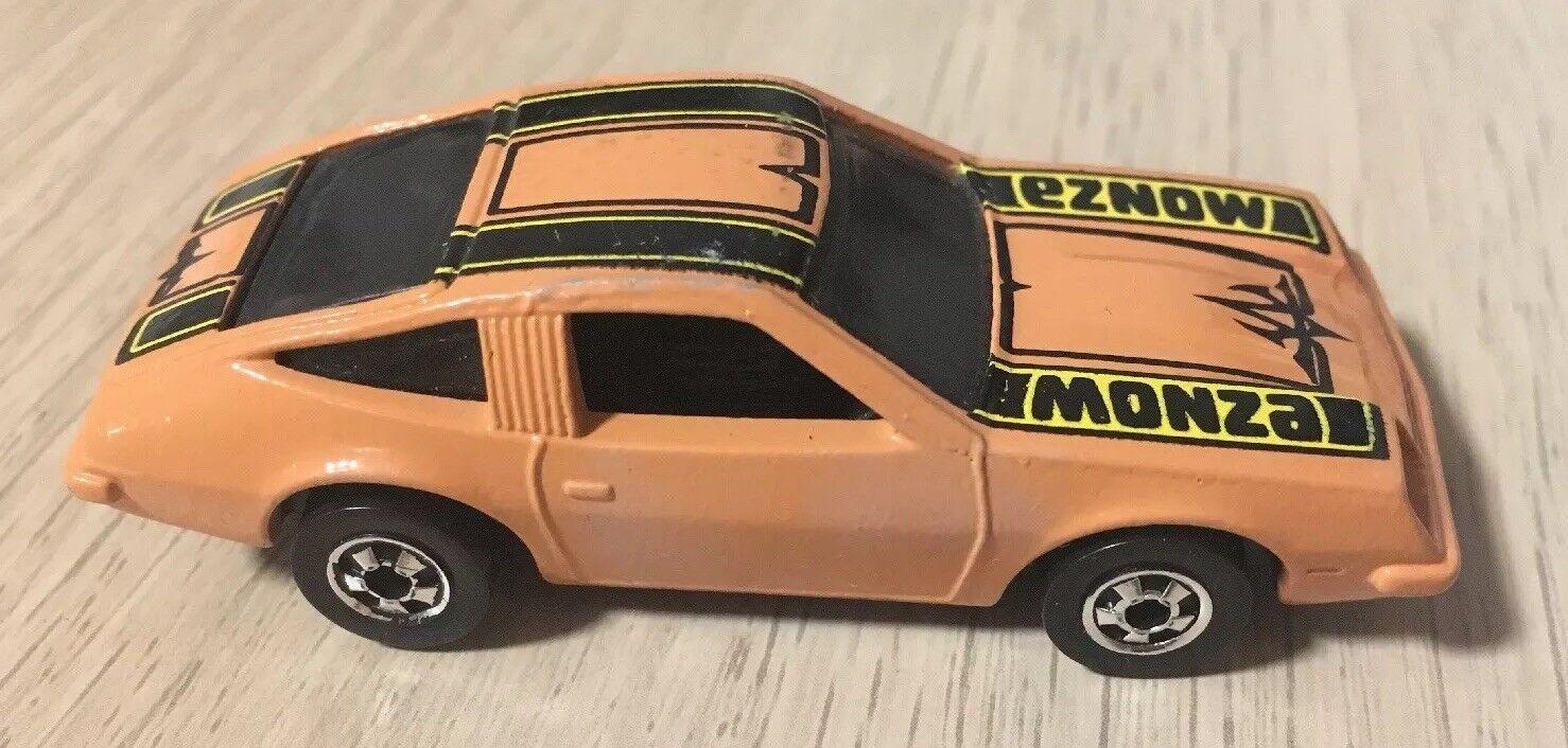 Chevy Monza HOT Wtalons 1985 France Mexique NOIR et  BLANC nº 7671 Beige Jaune & Noir tampo  garantie de crédit