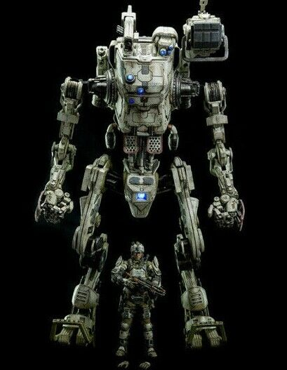 ThreeZero TitanFall Stryder 1 12 Scale Mech & Action Figure New in Box