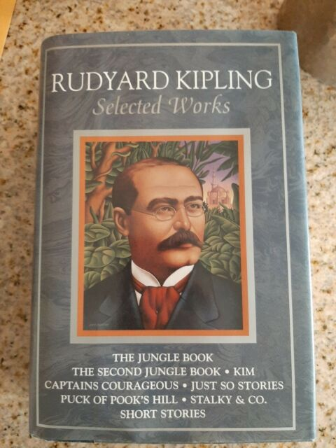 (BD)  Rudyard Kipling  Selected Works  Reissue used free shipping