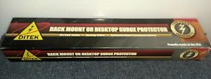 **NEW** Ditek DTK-RM16NM Rack Mount CCTV Video Surge Protector