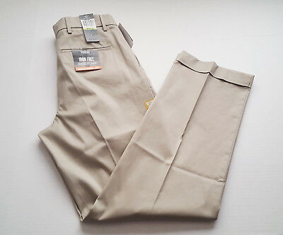 Beige Mens Dockers Signature Classic pleated khaki dress pants Cloud// lt
