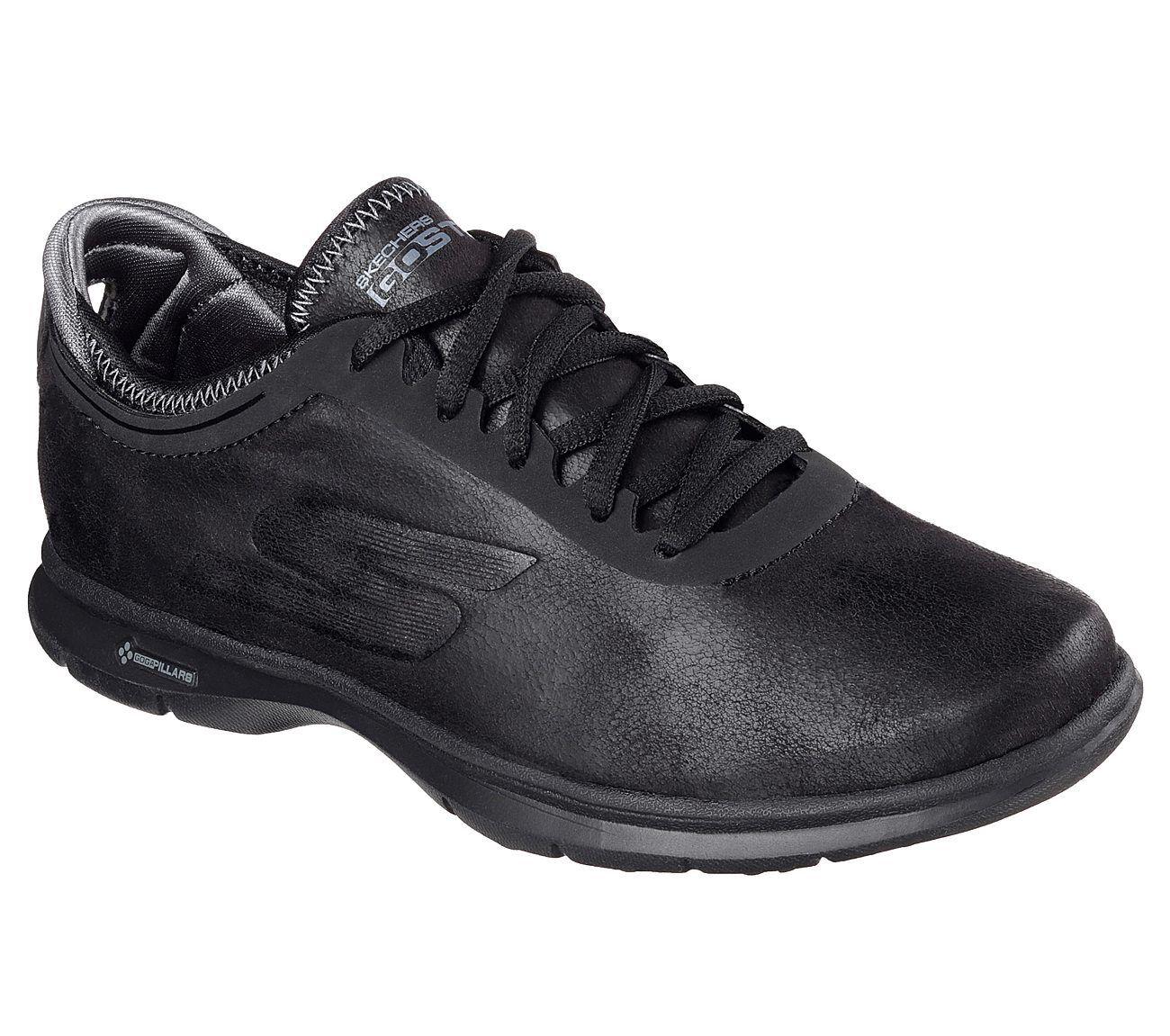 Nouveau Haut 7 M Skechers Go Marche-Superior Chaussures Noir