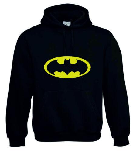 capucha con capucha Robin de Sudadera larga manga Rojo Batman de con Negro Polycoton Adulto y 8cAHOSH