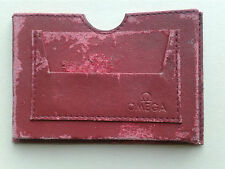 Vintage OMEGA Watch Pouch Booklet Holder Briefcase Ventiquattrore Mallette