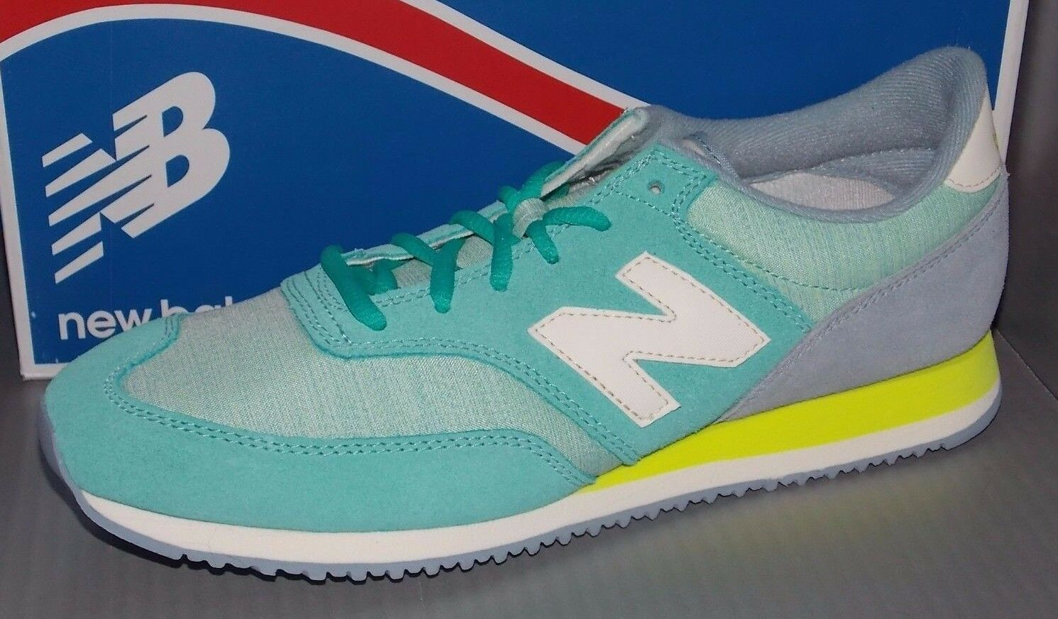 Donna NEW BALANCE SIZE CW 620 BWK in colors TEAL SIZE BALANCE 8 bff197