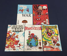 SKOTTIE YOUNG VARIANTS LOT : FIVE MARVEL SECRET WARS #1's : CIVIL WAR, AVX