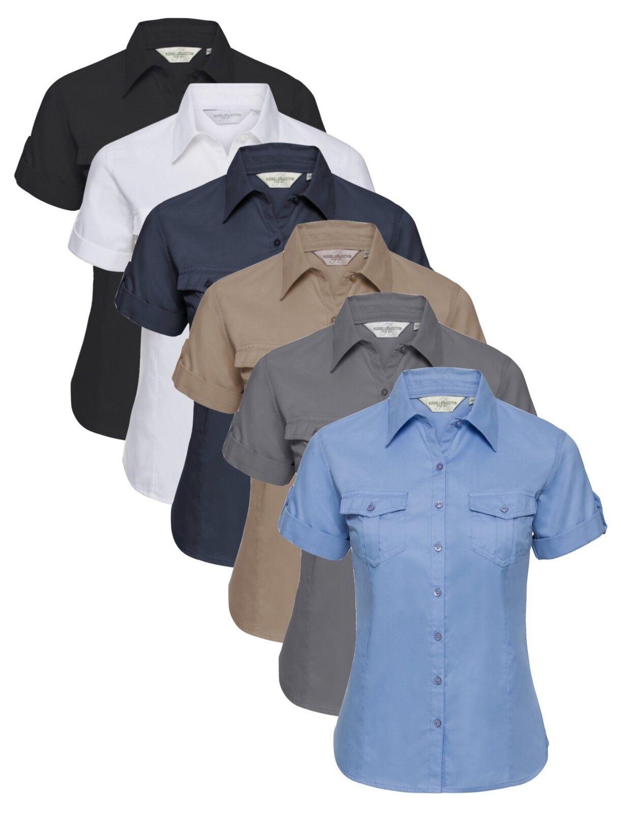 Damen Blau Schwarz Beige Weiß Grau Rollärmel Baumwolltwill Hemd BlauSE | Großhandel  | Der Schatz des Kindes, unser Glück  | Sehr gelobt und vom Publikum der Verbraucher geschätzt  | Vogue  | Kunde zuerst