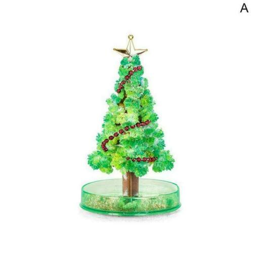 Crystal Gift Toy Stocking Filler Growing Christmas Funny Tree P4Q3