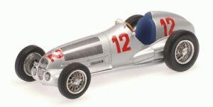 Mercedes Benz W125 R. Gagnant de Caracciola Gp allemand 1937 1:43 Modèle Minichamps