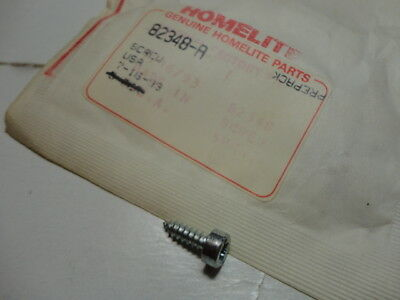 Homelite 93460 Chainsaw Muffler Cover Screw for 360 Automatic Super 2 LX30 XL