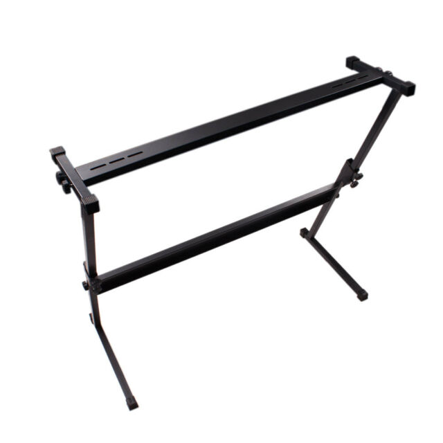 New 61 keys Electric Keyboard Electronic Piano Z Shape Rack Stand Adjustable