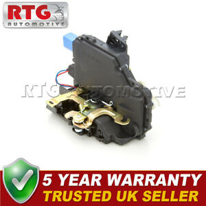 Door-Lock-Actuator-Rear-Left-Fits-VW-Polo-Mk4-1-9-SDi